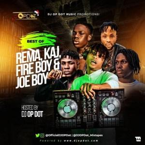 DJ OP Dot - Best Of Rema, FireBoy DML & Joeboy, KAJ